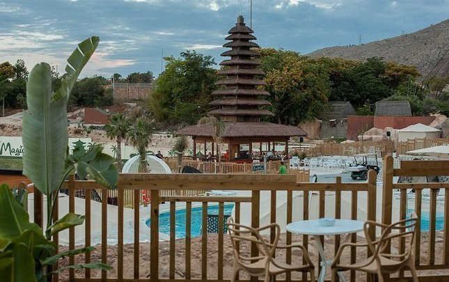 2-Х КОМНАТНЫЕ ХИЖИНЫ POLYNESIAN SUPREME POOL CLUB Magic Natura Animal, Waterpark & Polynesian Resort Бенидорме
